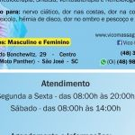 Ventosa Terapia em São José SC
