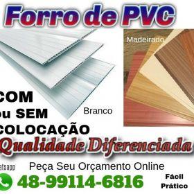 FORRO de PVC em Palhoça e São José SC