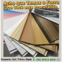 Forro PVC Com ou Sem Colocação - em Florianópolis