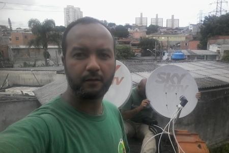 Antenista na Zona Leste