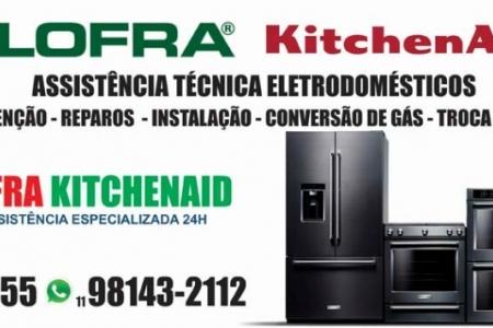 Assistência Eletrodoméstico Kitchenaid e Lofra especializada