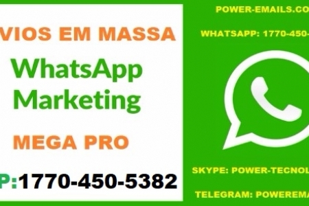 Kit Marketing  3 em 1 Envios Em Massa Whatsapp Marketing