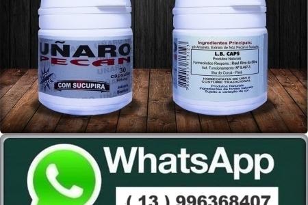 UNARO PECAN COM SUCUPIRA - EXTRA FORTE - 30 CÁPS - POR R$54,90 + FRETE.
