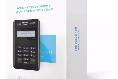 Maquina de cartão Mercado Pago Point Mini muito barato
