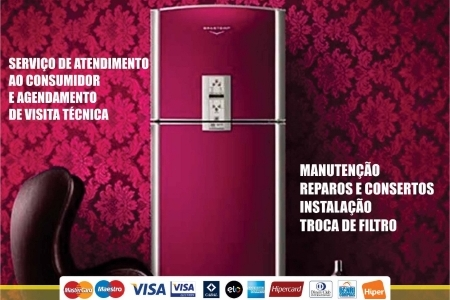 Especializada Assistência Refrigerador Side by