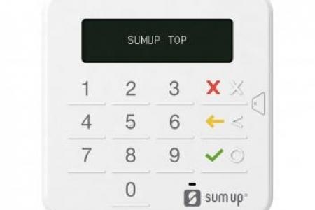 Adquira a Máquina de Cartão SumUp por um preço imperdível !