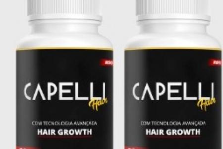 CAPELLI HAIR O TRATAMENTO DEFINITIVO PARA MULHERES E HOMENS TENHA CABELO E FORTALECIMENTO CAPILAR
