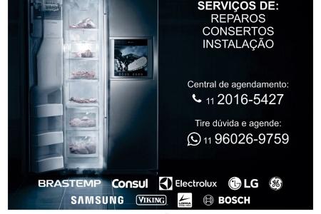 Manutenção para geladeira em São Paulo