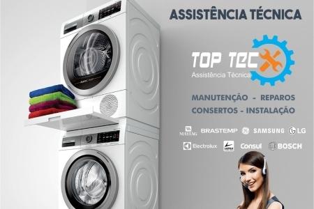 Assistência para lavadora de roupas