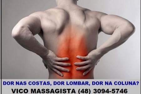 Vico Massagista e Quiropraxia em São José SC - de segunda a sábado